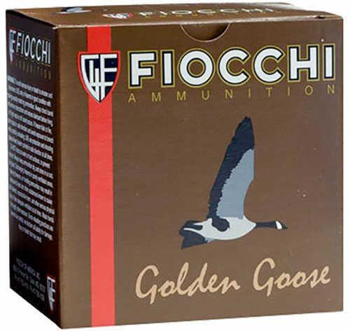 "Fiocchi Golden Goose Steel 12Ga Ammo 3.5"" 1-5/8Oz 3B 1235GG3B"
