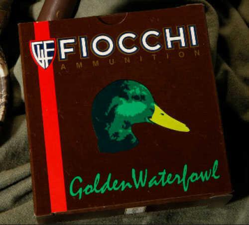 """Fiocchi Ammo Golden Waterfowl Steel 12Ga 3"""" 1.25Oz Bbb Ammunition 123SGWBBB"""