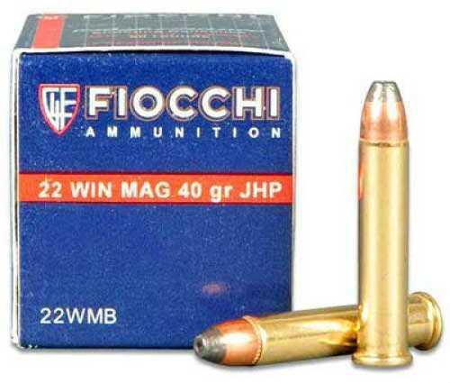 Fiocchi Ammo Sd 22 Win Mag 40Gr JHP 50Rd 22FWMB