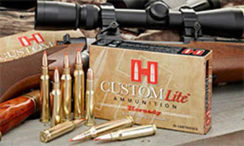 Hornady 7mm Rem Mag139gr SST Custom Lite 20 Per Box 80596