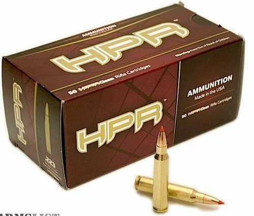 HPR Ammunition Hpr 223 Remington Ammo 62gr Blackops Hyperclean 20rds 223062OTFBLK