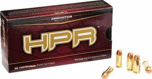 HPR Ammunition Hpr 357mag 125gr Xtp Hp Hyperclean 50rds 357125JHP