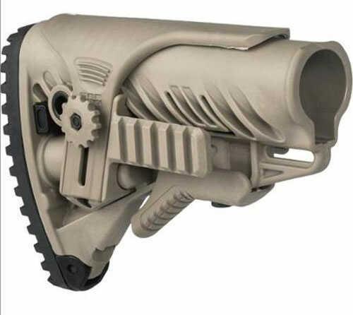 Mako Group Stock AR15 M4 Recoil Reducing Cheek Rest FDE