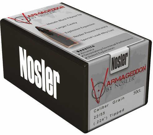 Nosler 22cal 55gr FBHP Varmageddon 500ct