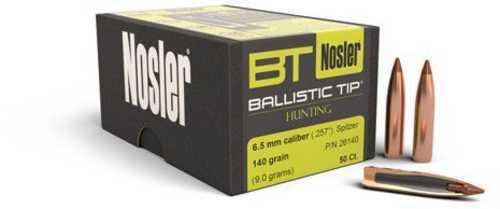 Nosler 6.5mm 140gr Ballistic Tip (50) 26140