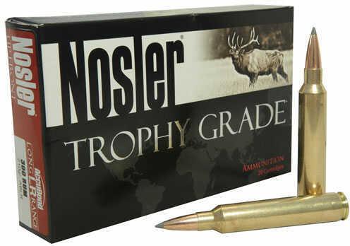 Nosler Ammo 300 Weatherby Magnum 210Gr Accubond LR 20rds 60131