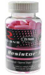 Radians Rad Foam Ear Plugs Pink 25/Jar Md: FP70P25