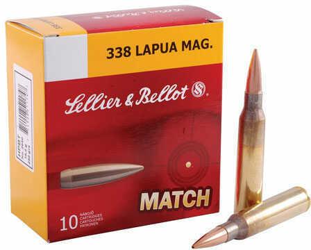 Sellier & Bellot 338 Lapua 250Gr HPBT 10/10 SB338LMA