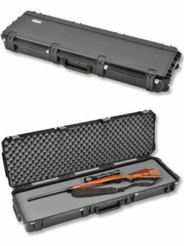 """SKB Sports 3I-Series 5014 Double Rifle Black Hard Interior 50 1/2"""" X 14 1/2"""" X 6"""" 3I-5014-6B-L"""