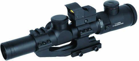 Sun Optics Euro Hunter 1.1-4x24 IR Red Green Dot Germ 4A CS611424