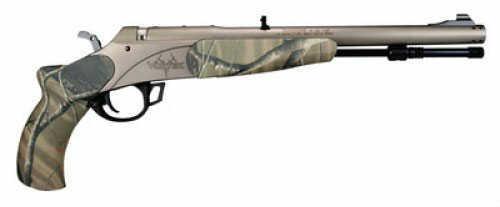 Traditions Muzzleloader Vortek Pistol Camo 50cal Fiber Optic Sights Realtree AP P1523