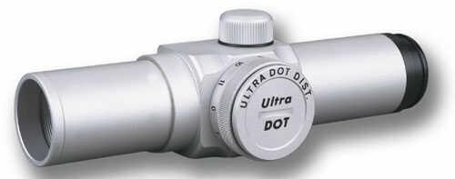 "Ultradot 25mm 1"" Red Dot Silver ULDT0000S"