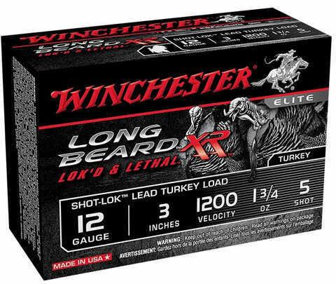 Winchester Long Beard XR 12 Gauge Ammo 3.5' #6 Shot 10 Shells STLB12LM6