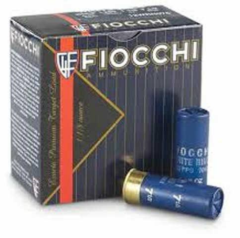 """Fiocchi Super White Rino TGT 12Ga 2.75"""" #8 25/10 12swrn8"""
