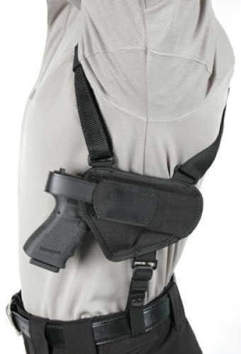 "BlackHawk Products Group Blackhawk Nylon Horizontal Shoulder Holsters Black - Medium - Size:16 -- 3 1/4"" - 3 3/4"" barrel medi 40HS16BK-MD"
