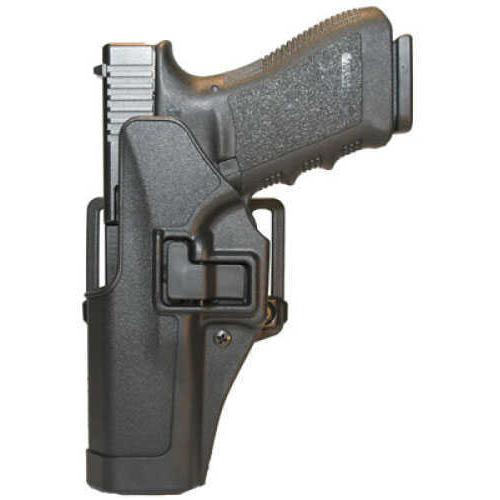 BlackHawk Products Group Blackhawk SERPA CQC Black Matte Holster with SERPA Active Retention System - Left Size 13: Glock 20/ 410513BK-L
