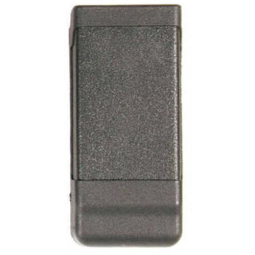 BlackHawk Products Group Blackhawk Carbon-Fiber Single Magazine Case Double stack 9mm/.40 cal - Black - Built-in tension spri 410600PBK