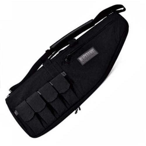 "BlackHawk Products Group Rifle Case 34"" x 2.5"" x 11.5"" - Full opening zipper for shooting mat capability - 1000 denier nylon 64RC34BK"