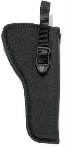 "BlackHawk Products Group Hip Nylon Belt Holster Right Hand, 3"" Small/Medium DA Revolver 73NH00BK-R"