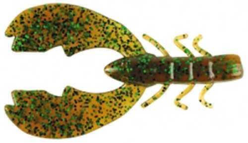 Pure Fishing / Jarden Berkley Powerbait Chigger Craw 3In 8per bag Pumpkin Grn Fleck Md: MPCHC3-PG