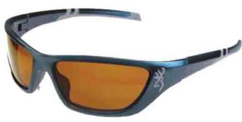 AES Optics Inc Browning Sunglasses Alpha Max - Blue/Amber ALP-002