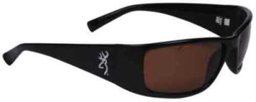 AES Optics Inc Browning Sunglasses Boss - Black/Amber BOS-002