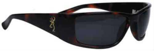 AES Optics Inc Browning Sunglasses Boss - Tortoise/Grey BOS-003