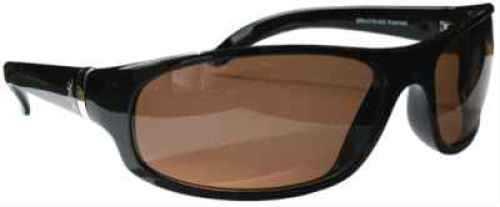 AES Optics Inc Browning Sunglasses Cynergy - Black/Amber CYN-002