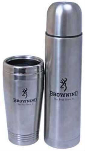 AES Optics Inc Browning Thermos & Mug Set - .75L & .45L TMS-001