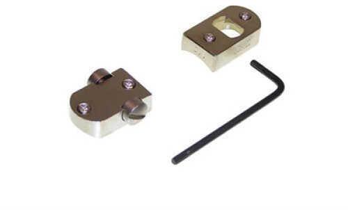 Burris Trumount Universal Two-Piece Base (TU) Savage Short & Long Action, Round Rear Receiver - Nickel fini 410247