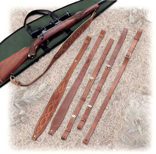 "Butler Creek Leather Cobra Sling - Padded Suede 1"" wide, 36"" long Wide shoulder pad for comfort - Flexible enough 26522"