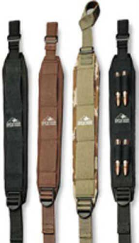 Butler Creek Comfort Stretch Alaska Magnum Sling - Mossy Oak Break-Up Holds 4 rounds - Designed to be shock absor 80037