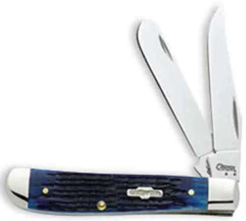 Case Cutlery Case Knife Blue Bone Mini Trapper 02838