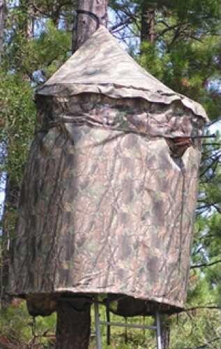 Cooper Hunting Industries Chameleon Gun Blind True Timber Conceal Green Camo 1003