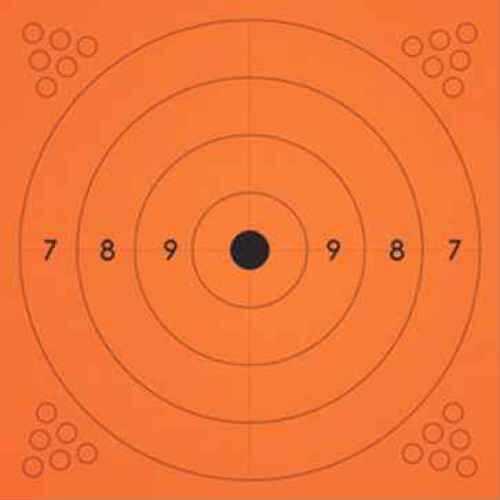 Champion Traps and Targets Champion Adhesive Targets 6X6 Orange 10Pk 45774
