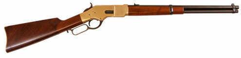 """Cimarron 1866 Yellowboy 19"""" .45Colt With Saddle Ring Rifle"""