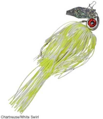 Z-Man / Chatterbait / Z-Man Chatterbait Pro 3/8oz Chartreuse White Swirl Md#: CB-PRO238-03