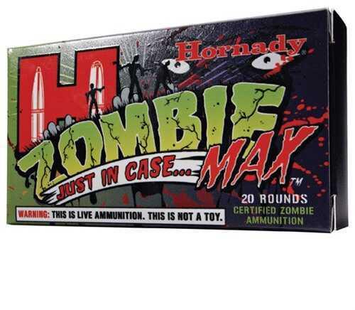 Hornady Z-Max Zombie Ammunition 308 Winchester 168Gr (Per 20) 80962