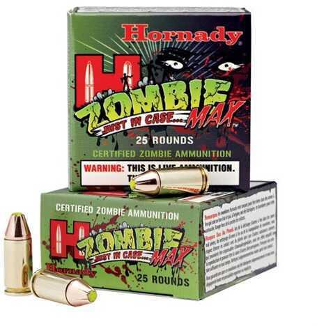 Hornady Z-Max Zombie Ammunition 9mm Luger 115Gr (Per 25) 90262