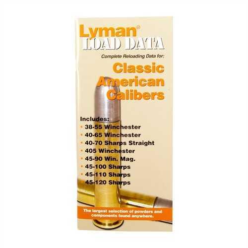 Lyman Load Data Book Classic Rifle Calibers 9780020
