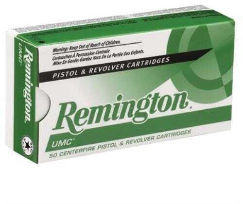 Remington 40 S&W Metal Case UMC 180 Grain Ammunition, 50 Rounds Per Box Md: REMLB40SW3