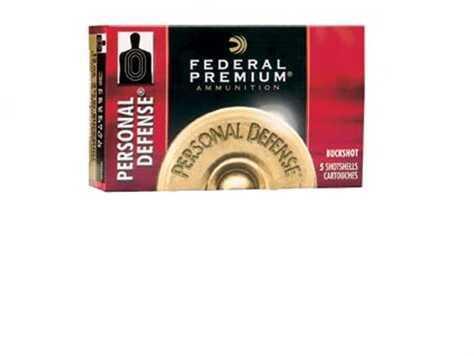 """Federal Cartridge Federal Personal Defense 12 Gauge 2.75"""" 9 Pellet 00 Buck (Per 5) PD13200"""