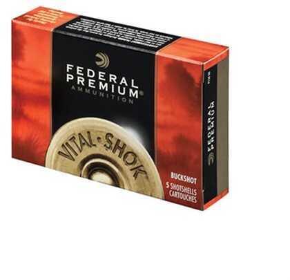 "Federal Cartridge 12 Gauge Shot shells Buckshot 3"" Mag dram 10 Pellets 000 Buck (Per 5) P158000"