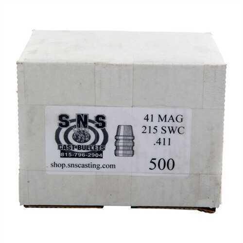 Cascade Industry SNS Cast Bullet 41 .411 215Gr SWC