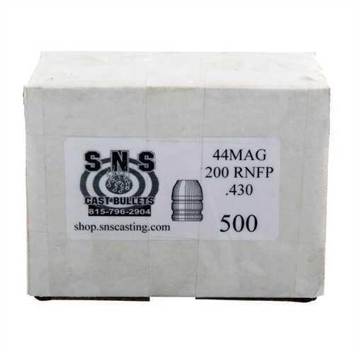 Cascade Industry SNS Cast Bullet 44 .430 200Gr RNFP