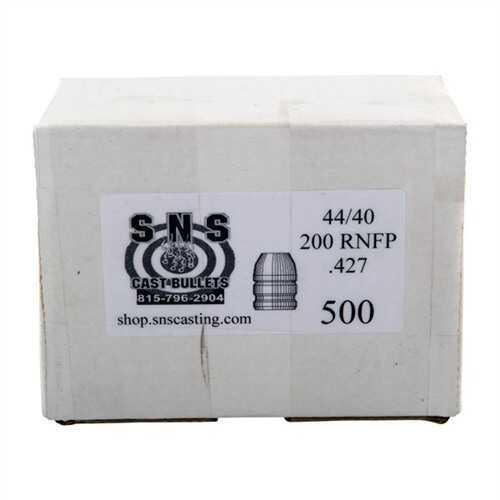 Cascade Industry SNS Cast Bullet 44-40 .427 200Gr RNFP