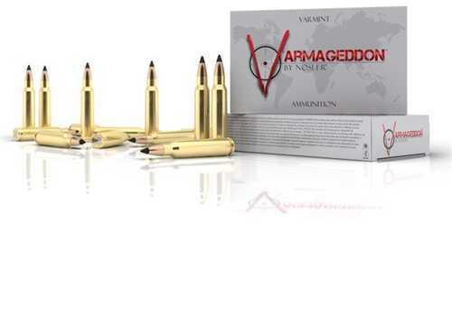 Nosler Varmageddon 223 Remington 55 Grain Tipped Flat Base (Per 20) 65145