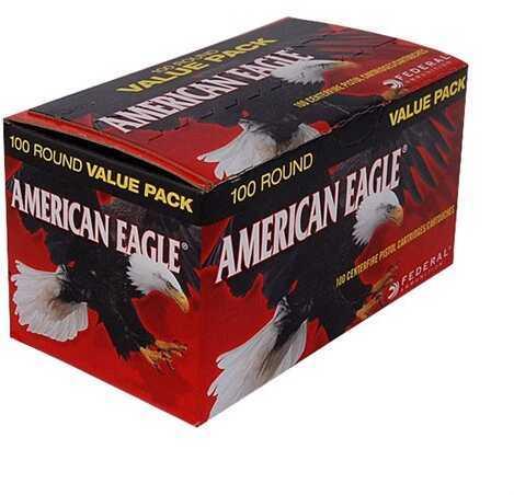 Federal Cartridge 9mm Luger 115 Gr, FMJ (Per 100) AE9DP100