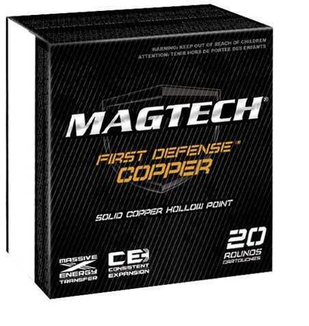 MagTech Ammunition Magtech Ammo 40 S&W 130 Gr Solid CopPer HP 20/Bx (20 rounds Per Box)