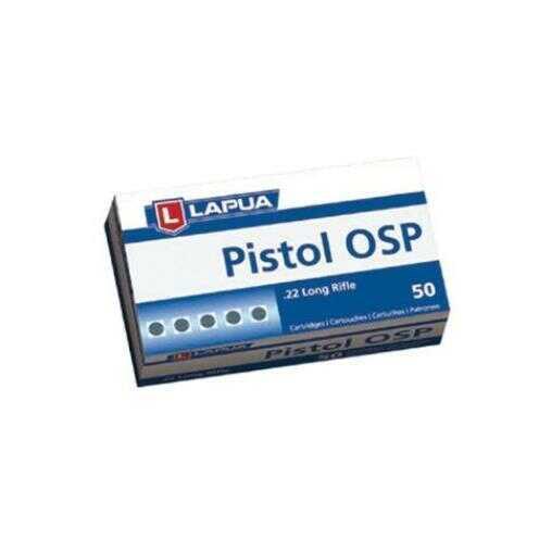 Lapua Pistol OSP 22 LR 40 Gr 50/Box ammo